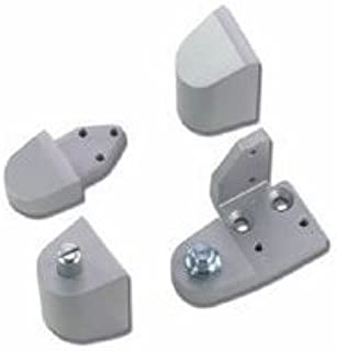 Armalite Style Aluminum Storefront Door Pivot Set - Left Hand - Aluminum