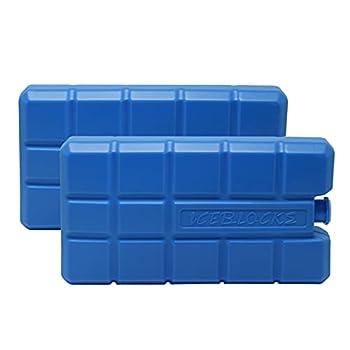 Lot de 2 blocs réfrigérants pour glacière.