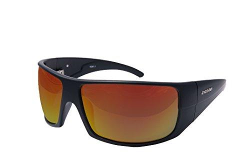 OCEAN SUNGLASSES - Brasilman - lunettes de soleil polarisÃBlackrolles  - Monture : Jaune - Verres : Revo Jaune (18301.1)