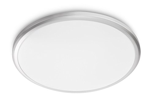 Philips myLiving Twirly LED Deckenleuchte, 1-flammig, grau, 318148716