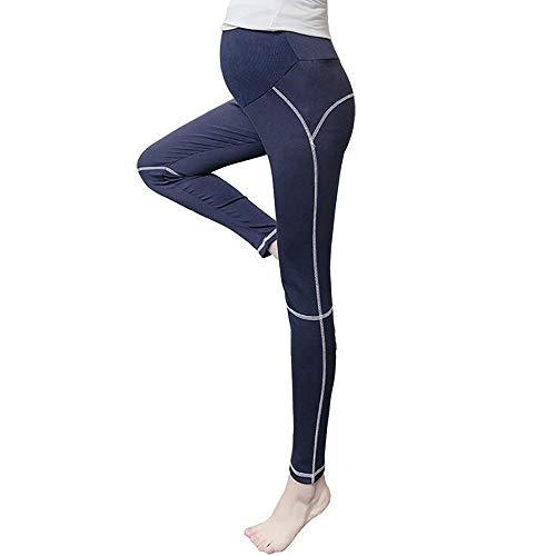 HoneyJuan Vrouwen Yoga Broek Fitness Plus Size Vrouwen Yoga Broek Herfst Effen Modal Elastische Zwangere Vrouwen Broek Zwangerschap Legging Zwangerschap Pant Workout Hardlopen Leggings Panty's