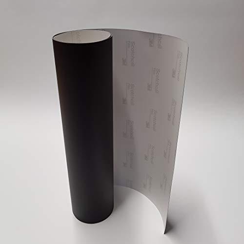 folien-zentrum (32,77€/m²) 3M Gravel Resistant Film F506 Lackschutzfolie schwarz 0,440mm 122 x 50 cm Folie
