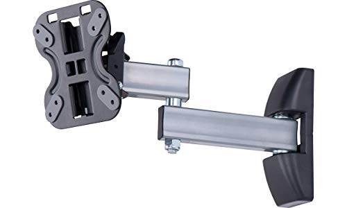 AmazonBasics - Soporte de pared de movimiento completo con dos brazos, para televisión, de 33 a 58,4 cm (13-23