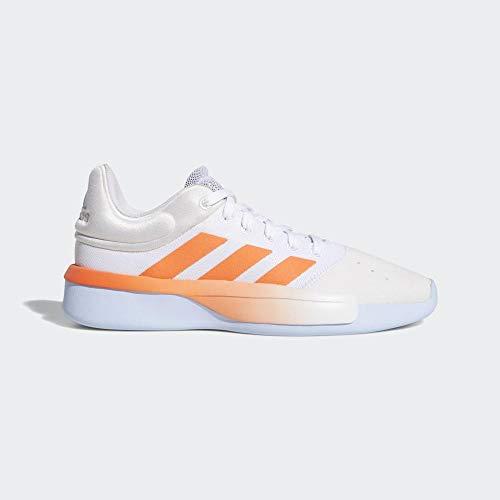 Adidas Pro Adversary Low 2019, Zapatillas de Baloncesto Hombre, Multicolor (Ftwbla/Coalre/Azubri 000), 48 EU