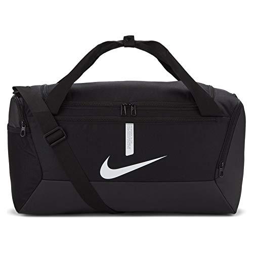 Nike Academy Team Sacs de sport Mixte, Noir/Noir/Blanc, Petit