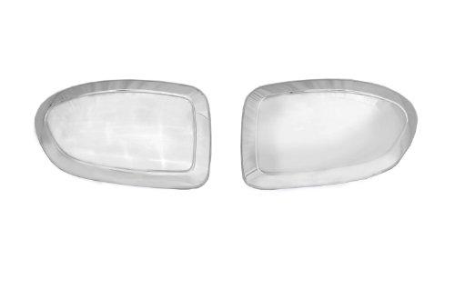 Auto Ventshade 687664 Chrome Mirror Covers for 1999-2007 Silverado & Sierra 1500, 1994-2004 Silverado & Sierra 2500, 2001-2006 Silverado & Sierra 3500, 2000-2006 Yukon, Tahoe & Suburban, 2002-2006 Esc