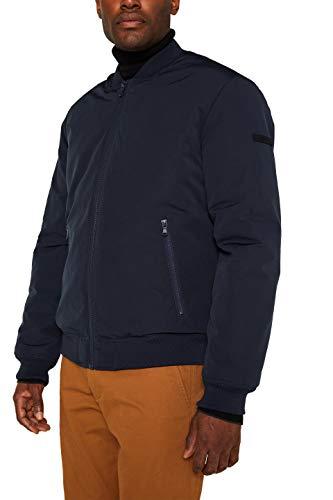 ESPRIT Herren 129EE2G008 Jacke, Blau (Dark Blue 405), Small (Herstellergröße:S)