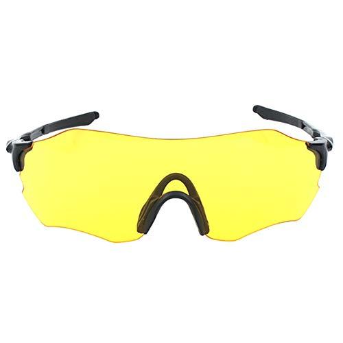 iKulilky - Gafas de Sol polarizadas para Ciclismo, Resistentes al Viento, para Hombre y Mujer Nachtsicht tamaño único