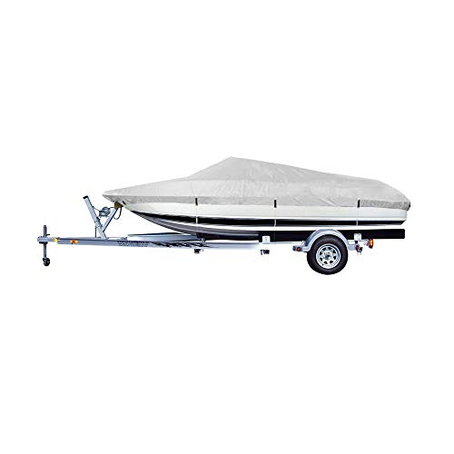 Great Deal! G2CAMP 17-19 Feet Beam Up to 96 inch Boat Cover Fits V-Hull, Tri-Hull Runabouts, Aluminu...