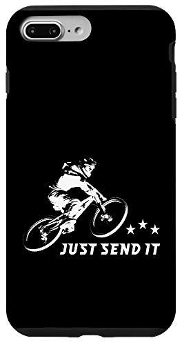 iPhone 7 Plus/8 Plus Just Send It Funny Mountain Bike Case