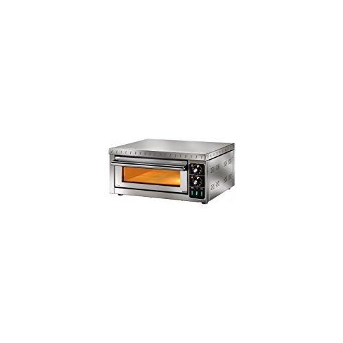 D.o.m.–Horno Pizza eléctrico 1Camera 41x 36cm Con Cristal