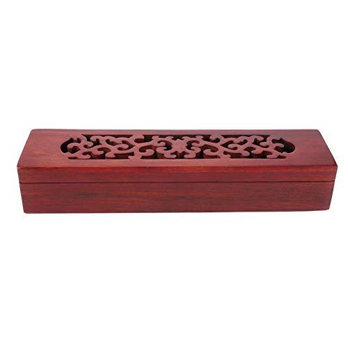 Agatige Soporte para Varillas de Incienso, Caja de Palillos de Vietnam Nanmu,...