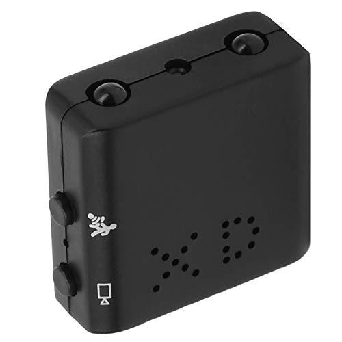 Mini cámara de movimiento de seguridad 1080P con visión nocturna, vigilancia óptica antivibración para sistema de monitoreo exterior para el hogar