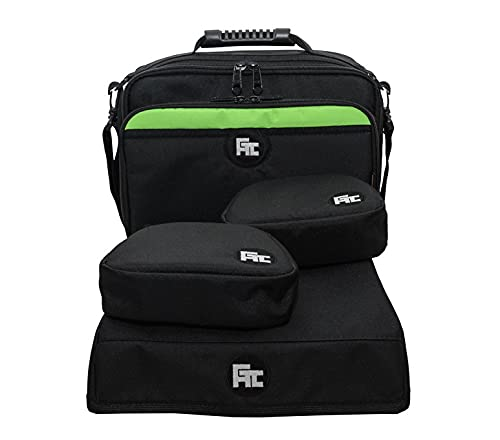 Bolsa Pasta Xbox One S + Cases controle e capa console - Kit 4 Peças