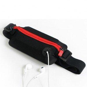 ZYT Poches poches sport hommes et femmes en cours d'exécution à l'extérieur de poitrine de portefeuilles de sécurité personnelle Pack voyage