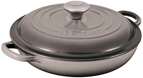 Le Creuset Enameled Cast Iron Signature Braiser, 1.5 qt., Oyster