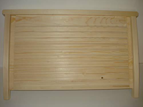 Tavoletta in legno per lavabo da lavanderia - Asse in legno lavabiancheria per lavatoio (70 cm)