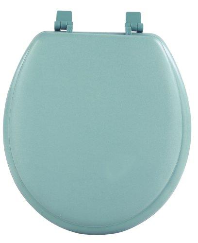 Achim Home Furnishings Light Green TOVYSTLG04 17-Inch Fantasia Standard Toilet Seat, Soft