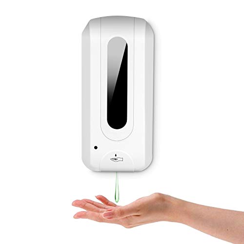 Automatic Hand Soap Dispenser Wall, Automatic Induction Sterilization, Automatic Hand Sanitizer, Wall Mounted,1000 ml Large Capacity Soap, Quick Dispenser, Restaurant and Factory and Public Area