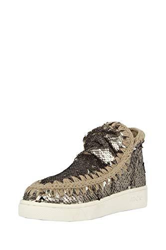 MOU scarpe donna stivaletto SW211001G SUMMER ESKIMO SEQGUN taglia 37 Acciaio