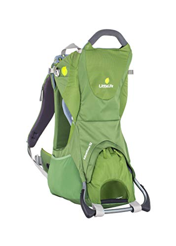 LittleLife Unisex Baby Adventurer S2 Child Carrier, Green, Grn, Einheitsgröße