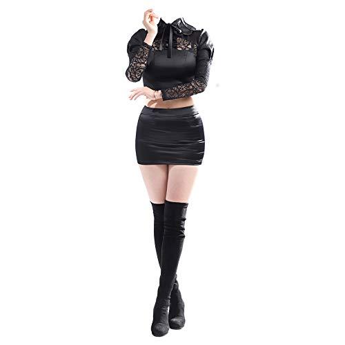 dataoeryingshiwenhuachuanmei KDA Ahri - Disfraz de Ahri para cosplay o fiesta