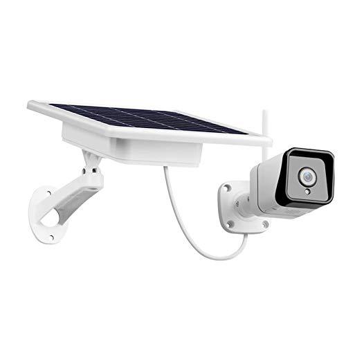 Andifany WiFi InaláMbrico al Aire Libre 1080P 2.0MP BateríA Solar EnergíA Microondas Detectado Color VisióN Nocturna CáMara de Seguridad de Vigilancia