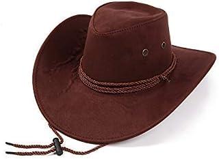 【19blue】 テンガロンハット ウエスタンハット メンズ 帽子 つば広 スエード調