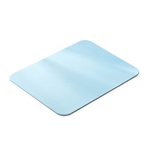 Tapis de bain de terre de diatomées, Tapis de douche de bain Tapis absorbant de diatomite Tapis de bain antibactérien absorbant à séchage rapide et anti-dérapant39 * 29cm (Couleur : A)