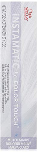 Wella Instamatic Hair Color, Muted Mauve, 2 Ounce