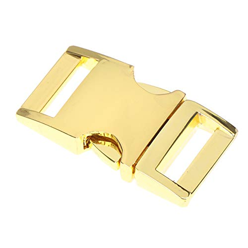 1/5 x men broek tactische riem gesp metalen accessoires kledinghoezen Quick Release 50 mm,5pcs goud
