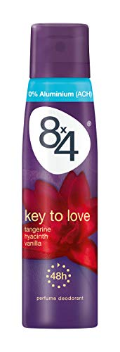 8x4 deodorant spray 150ml Key to Love