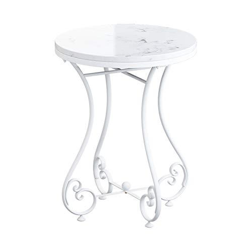 Home.table XZGang Mármol Mesa de café, Flor Decorativa Stand Flower Shop Sala de Estar Sofá Oficina Tabla fácil de administrar Vida Sencilla (Color : #5, Size : 50 * 50 * 63CM)