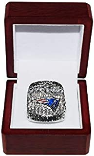 NEW ENGLAND PATRIOTS (Tom Brady) 2019 SUPER BOWL LIII WORLD CHAMPIONS (13-3 Victory Vs. Rams) Rare Collectible High-Qualit...