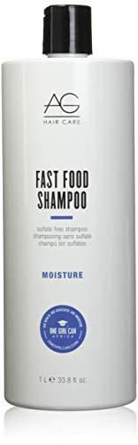 AG Hair Moisture Fast Food Sulfate Free Shampoo, 33.8 Fl Oz