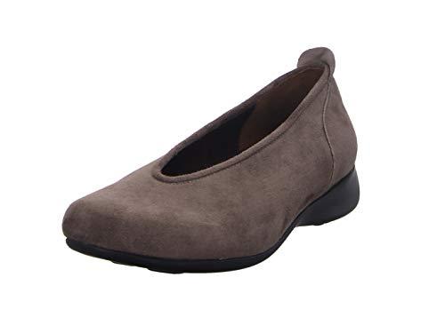 Wolky Comfort Slippers Ballet - 40150 Taupe Veloursleder - 38
