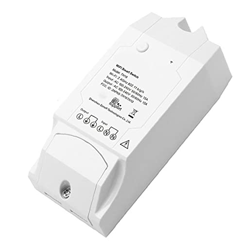 Interruptor de humedad de temperatura TH16 Sensor inteligente WiFi Sensor Control remoto para la herramienta Operada a mano de DIY