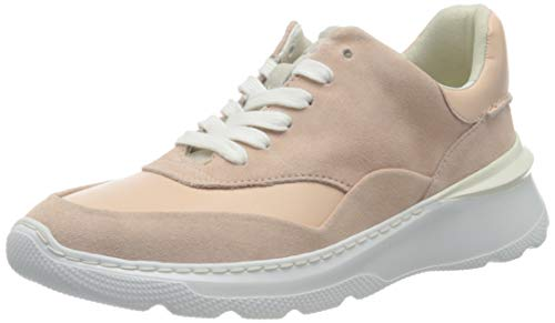 Clarks Sprintlitelace, Zapatillas Mujer, Rosa Claro, 40 EU