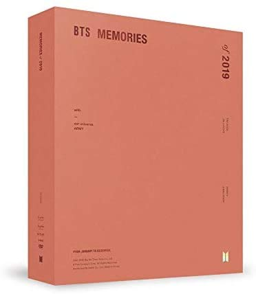 BTS MEMORIES OF 2019 DVD 6CD+2 buch+Frame+2 karte+7 Foto+Broschüre+GIFT+Pre-Order+TRACKING CODE K-POP SEALED