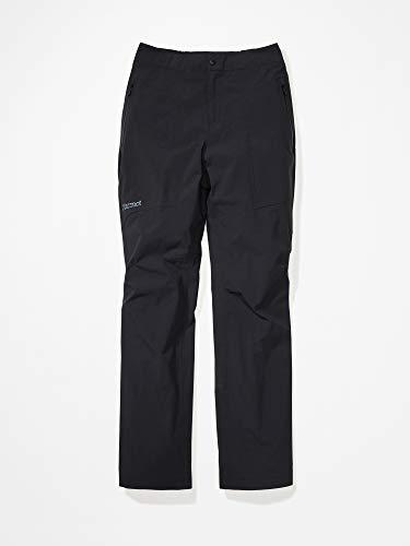 Marmot Damen Hardshell Regenhose, Winddicht, Wasserdicht, Atmungsaktiv Wm's EVODry Torrey Pant, Black, M, 46100