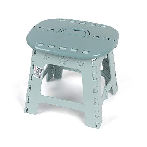WYXR Klein Kinderfußbank, klappbarer Fußhocker - Klapphocker - Sitzhocker - Klappstuhl für Camping, Garten, Terrasse und Balkon geeignet,A