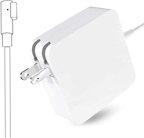 MacBook Pro Charger, AC 60W Power Adapter Magnetic L-Tip Connector Charger for Mac Book Pro 13-inch(Before Mid 2012 Models)