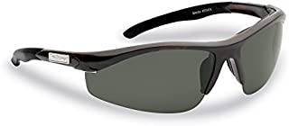 Flying Fisherman 7704TS Spector Polarized Sunglasses, Unisex-Adult, Tortoise Frames/Smoke Lenses,  One Size