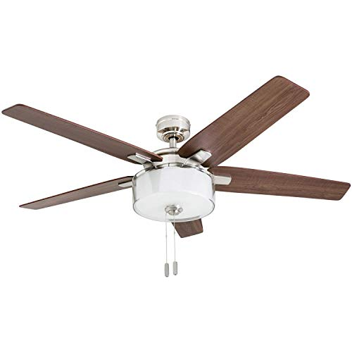 Prominence Home 50880-01 Cicero Contemporary Ceiling Fan,...