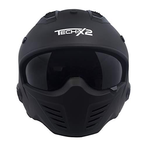 Casco De Moto 3/4 marca TECH