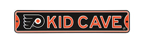 Authentic Street Signs NHL Hockey Officially Licensed Steel Kid Cave Sign-Decor for Sports Fan Bed Room! (Philadelphia Flyers)
