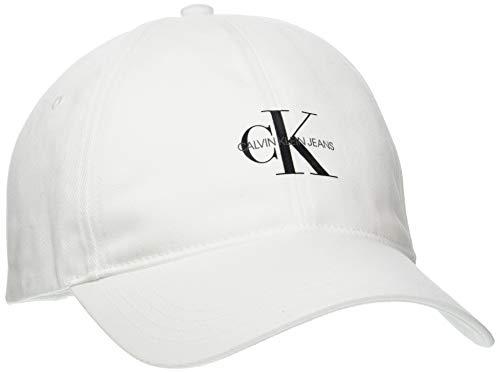 Calvin Klein Jeans Herren Cap 2990 Verschluss, Bright White, Einheitsgröße