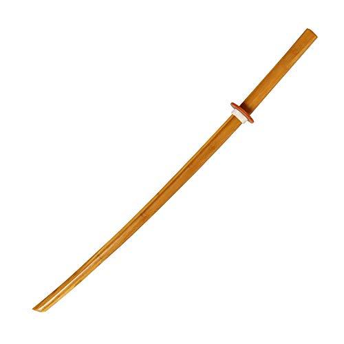 DEPICE Bokken Iaido Aikido Katana - Espada de Madera de bambú (450 g, 101 cm)