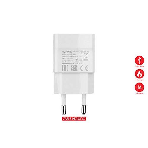 Travel Casa Original USB-Ladekabel HW-050100E01 für Huawei Y560, P8 LITE - 1000 mAh Farbe weiß, Länge 1 m