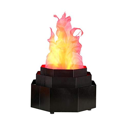 3D Fake Fire Light, LED Flame Stage Effect Light, 3D Campfire Lamp Prop Flame Light for Halloween, Christmas, Festival, New Year, Party Decor LJJOO